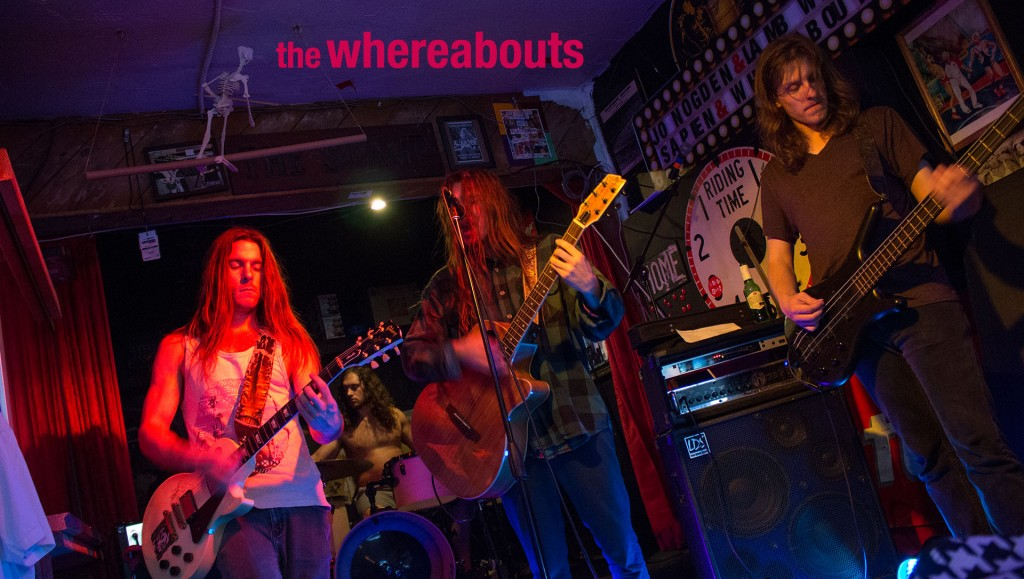 The Whereabouts LIVE at Knuckleheads, San Clemente